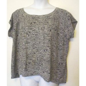 Xersion Performance Gray Stretch Knit Top 2X EC